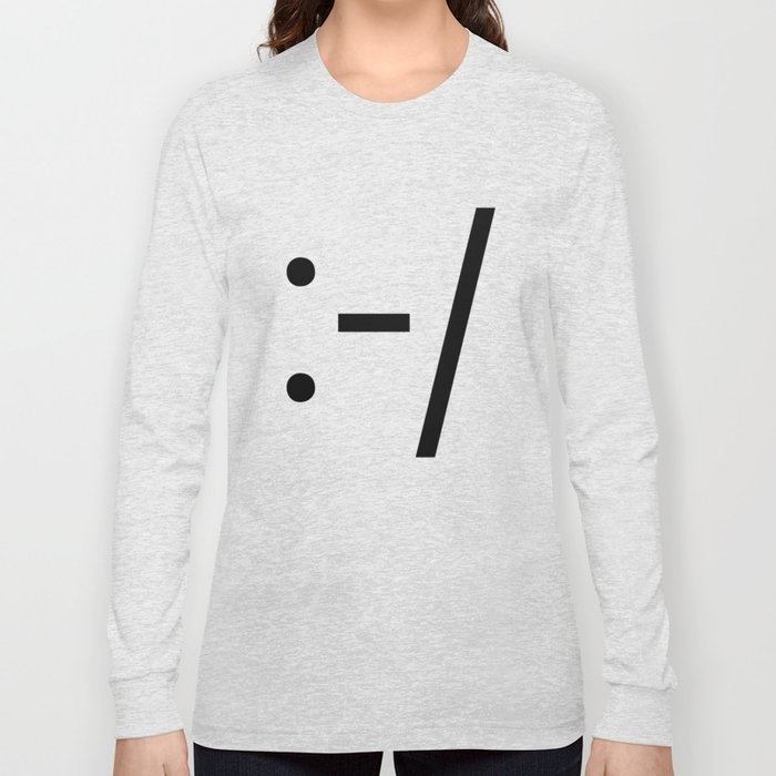 CROOKED SMILE Long Sleeve T-shirt