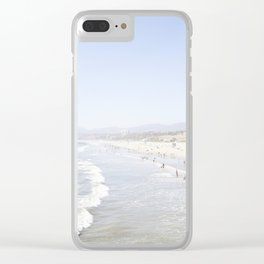 Santa Monica Beach Clear iPhone Case