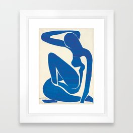 Blue Nude by Henri Matisse Framed Art Print