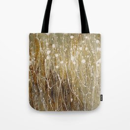floral abstrakt Tote Bag