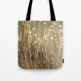 floral abstrakt Tote Bag