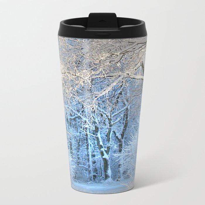 Another winter wonderland Metal Travel Mug