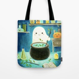 Ghost and potions Tote Bag