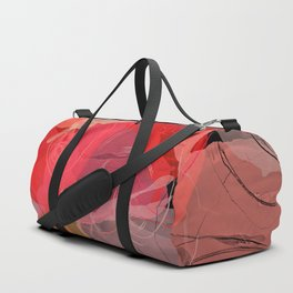 Floral abstract 35 Duffle Bag