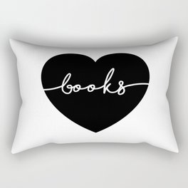 Books Rectangular Pillow
