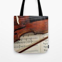 Old violin Tote Bag