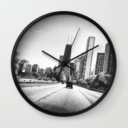 All Roads Leads to the City Wall Clock
