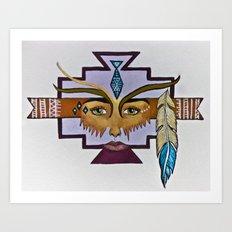 Nascha Art Print