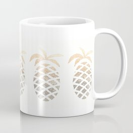 GOLD PINEAPPLE Coffee Mug