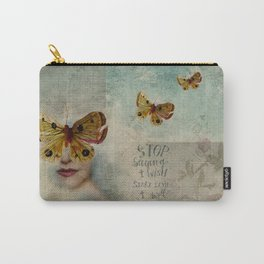 Stop saying I wish, start saying I will Carry-All Pouch