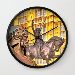 King Richard The Lion-Heart Wall Clock