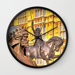 King Richard The Lion-Heart Wall Clock
