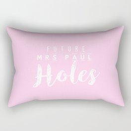 Future Mrs Paul Holes Rectangular Pillow