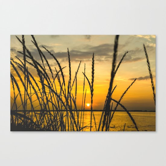 The Return to the Sea Canvas Print