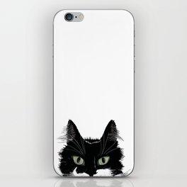 Tuxedo Cat iPhone Skin