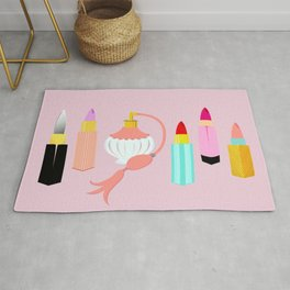 Dangerous Lipsticks Rug