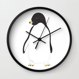 Penguin Love Wall Clock