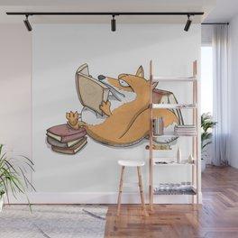 Fox grows Wall Mural