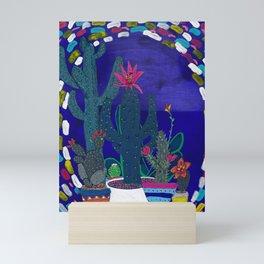 Cactus Odyssey 4 Mini Art Print