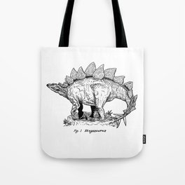 Figure One: Stegosaurus Tote Bag