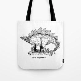 Figure One: Stegosaurus Tote Bag