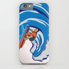Pressing Waves iPhone 6s Slim Case