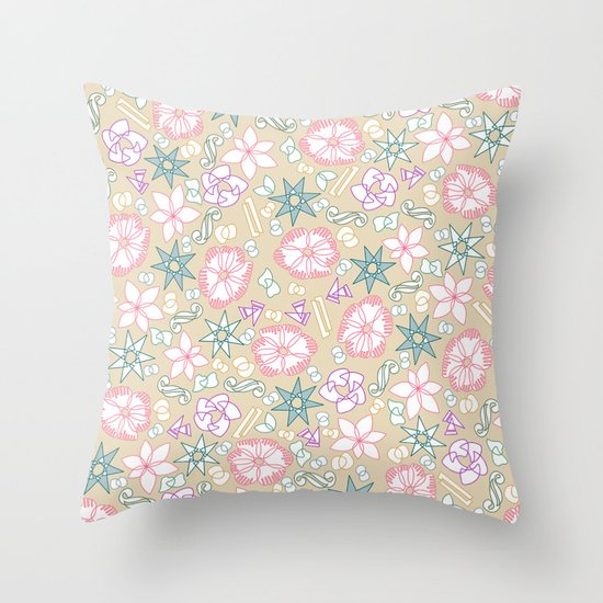 intersection v2 Throw Pillow