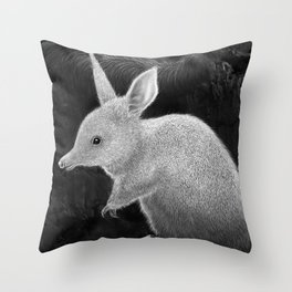 Bilby - On the brink.. Throw Pillow