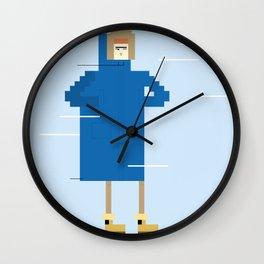 Snow Guy Wall Clock