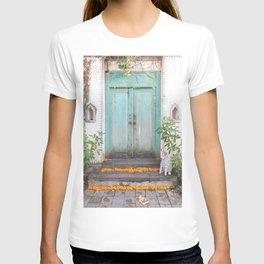 Turquoise Door T-shirt