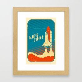 Lift Off! Framed Art Print