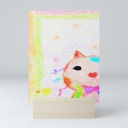 Secretly in love-2 Mini Art Print