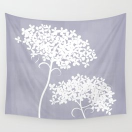 Queen Anne's Lace PGrey Wall Tapestry