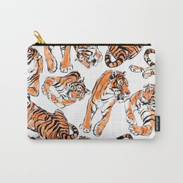 Tiger Pattren Carry-All Pouch