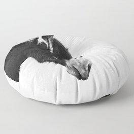 Everybody Loves Larry Floor Pillow