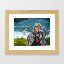 iHEART Framed Art Print