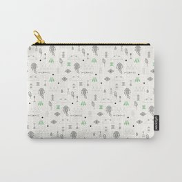 Seamless pattern with native American symbols Carry-All Pouch