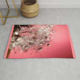 New Year's Pink Champagne Rug