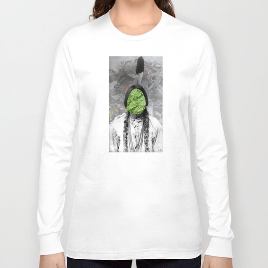 Sitting Bull - Collage Long Sleeve T-shirt