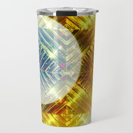 Luminescent Gold Travel Mug