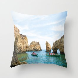 Ponta da Piedade Throw Pillow