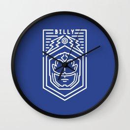 The Blue Ranger Wall Clock