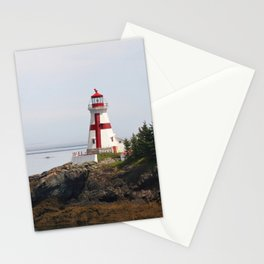 Head Habour Lightstation - Campobello Island New Brunswick Canada Stationery Cards