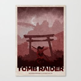 Tomb Raider (2013) Canvas Print
