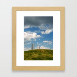 Walking Lad Framed Art Print