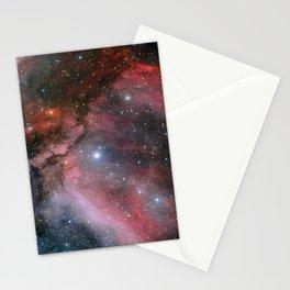 Carina Nebula Space Art Stationery Cards