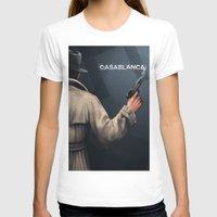 casablanca T-shirts featuring Cinema Classics: Casablanca by ErstwhileSky