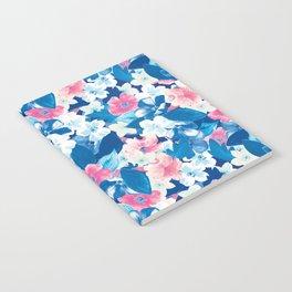Bloom Blue Notebook