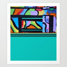 Calypso II Art Print