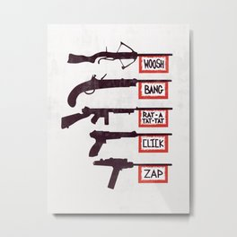 A Brief History of Non-Violence Metal Print